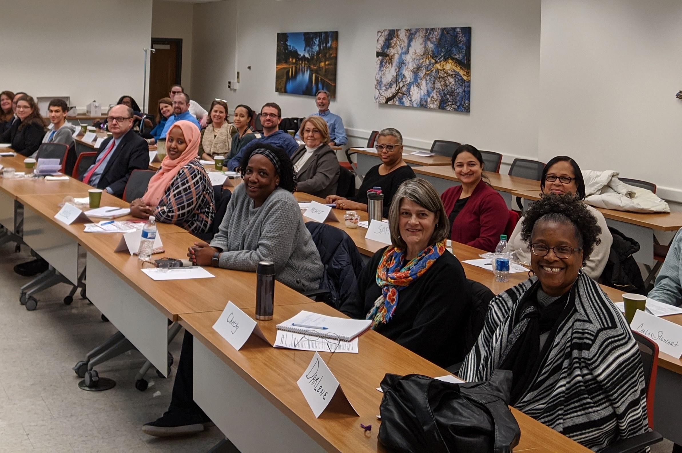 CCTS Patient & Community Peer Review Academy (photo taken on February 7, 2020 by Dr. Tanya Mathew)