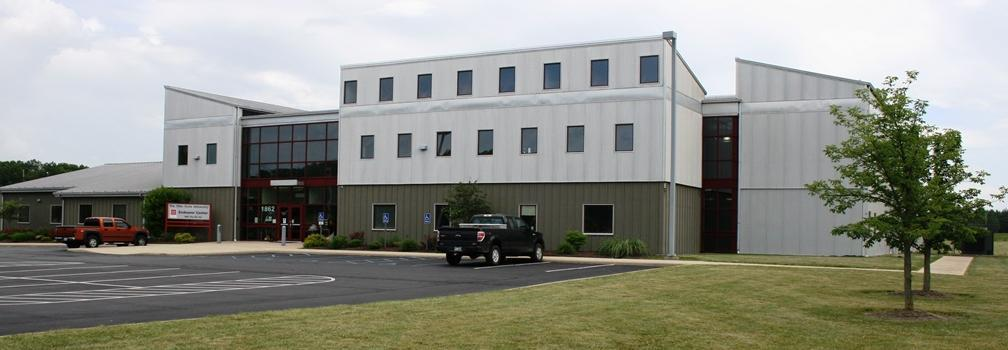 Photo of the Endeavor Center building